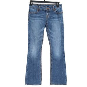 Buffalo Mischa Stretch Low Rise Boot Cut Jeans